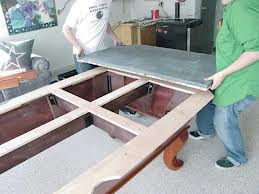 Pool table moves in Springfield Missouri