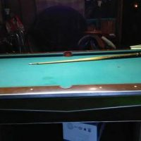 "Valley 93"" Coin Operate Pool Table"