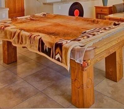 Connelly 8ft Pool Table, Southwest Style