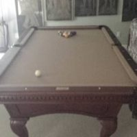 Professional Fisher Pool Table (SOLD)