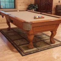 8ft Fischer Pool Table