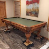 C.L. Bailey Co. 8ft Pool Table And Accessories