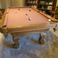 Southern Legacy Pool Table And Accessories