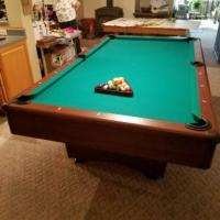 CJ Bailey Pool Table and Pingpong