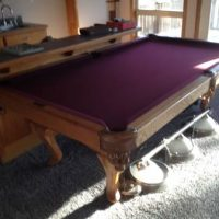 Golden West Billiards Custom Made Pool Table